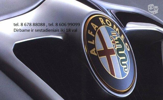 Alfa Romeo Dalimis Naudotos Alfa Romeo Dalys