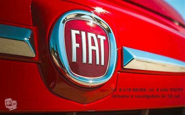 Detales Fiat Dalimis Naudotos Fiat Dalys Naujos
