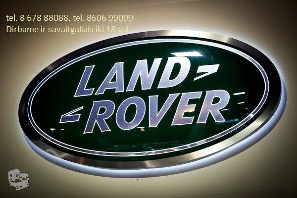 LAND RANGE ROVER Dalys 90 - 17 m., 24 val LAND ROVER DALIMIS