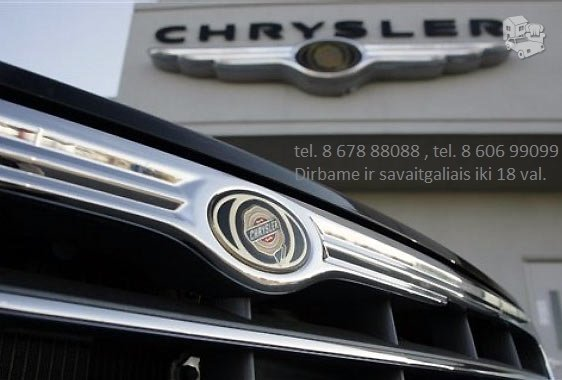 Chrysler automobiliu dalys