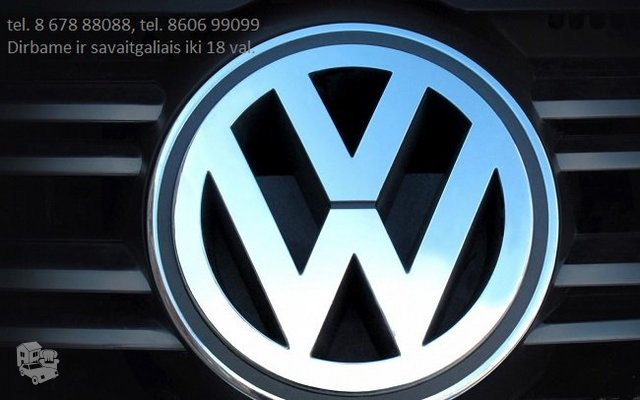 Volkswagen Dalimis Naudotos VW Dalys Naujos