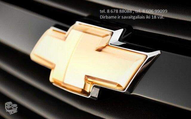 Chevrolet automobiliu dalys