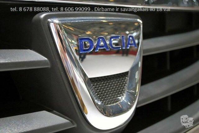 Dacia automobiliu dalys