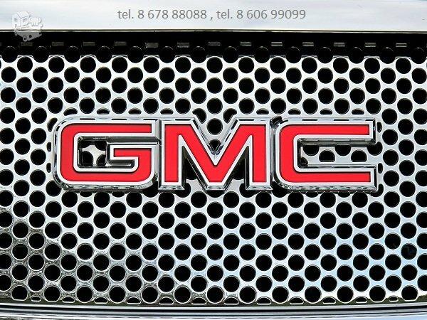 GMC automobiliu dalys