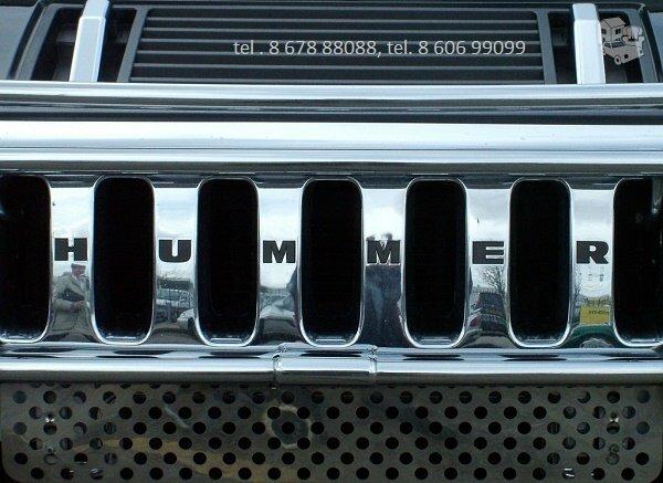 Hummer automobiliu dalys