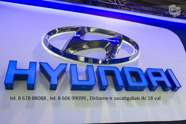 Hyundai automobiliu dalys