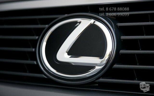 Lexus automobiliu dalys