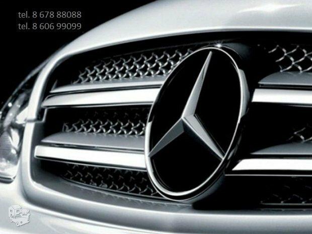 Mercedes automobiliu dalys