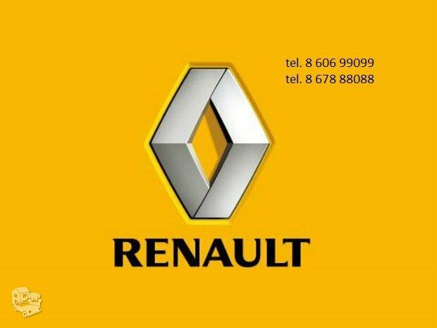 Renault automobiliai dalimis
