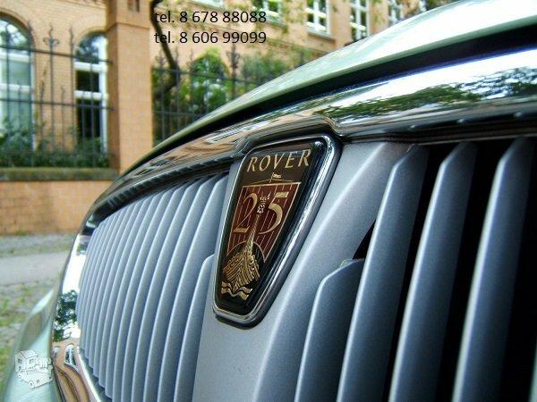 Rover automobiliai dalimis
