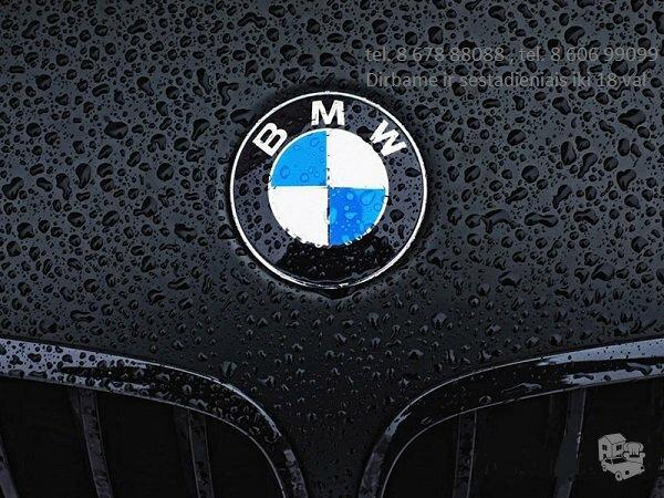 BMW 135 dalimis