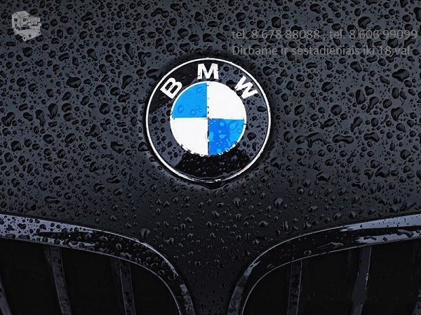 BMW 330 dalimis