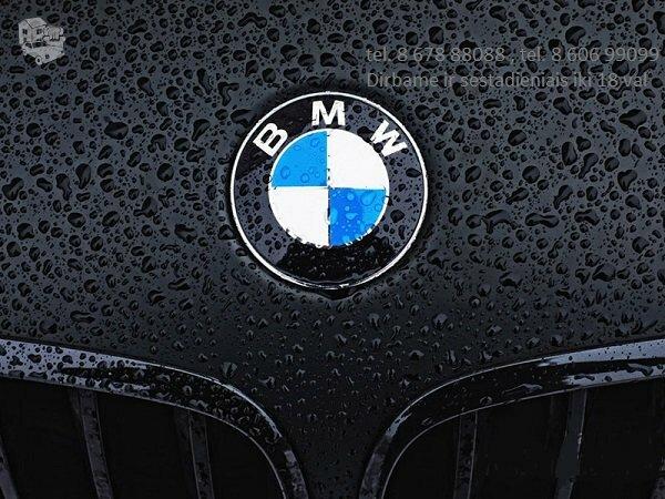 BMW 525 dalimis