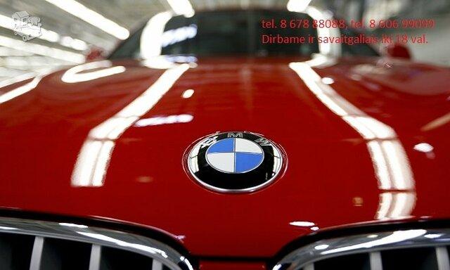 BMW 530 detales. Naudotos ir naujos dalys