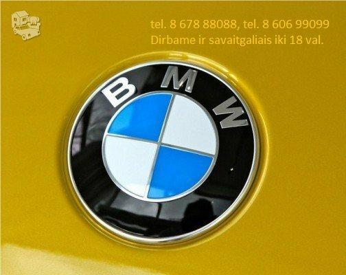 BMW 535 dalimis