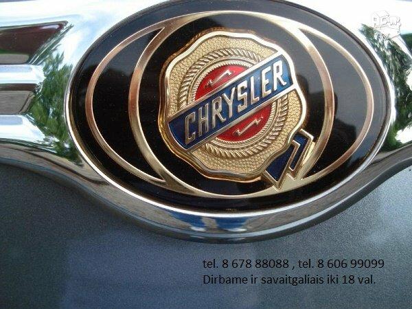 Chrysler Vision dalimis, automobiliu dalys