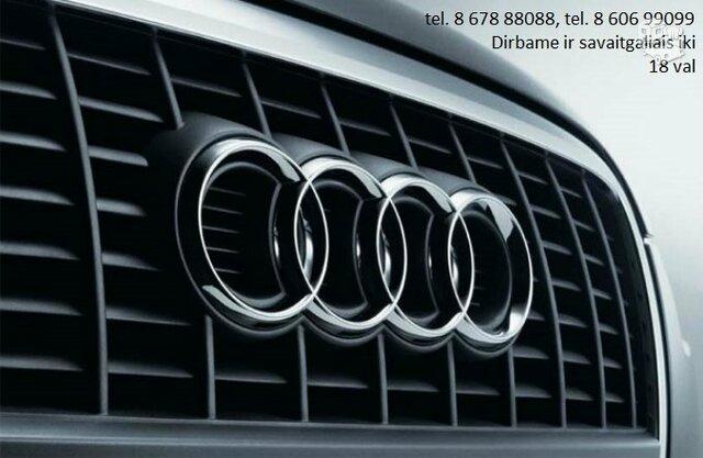 AUDI automobiliai dalimis, Audi autodalys, dalys