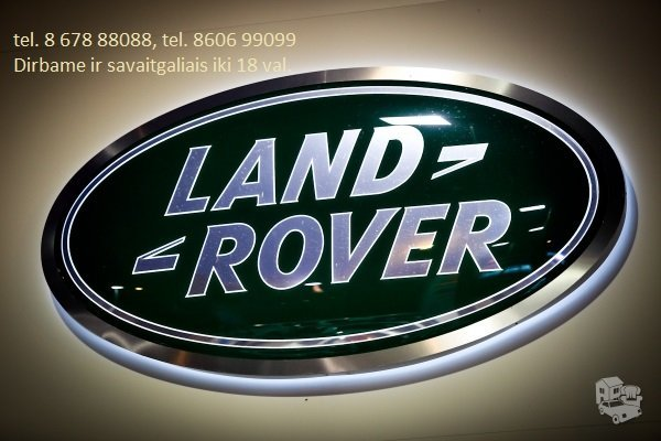 Land Rover dalys, autodalys, dalimis