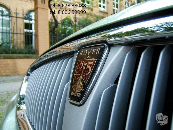 Rover dalimis, autodalys, Rover dalys