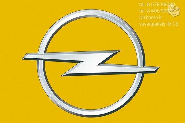 Opel automobilių dalys