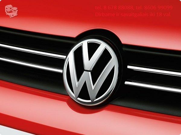 Volkswagen automobilių dalys