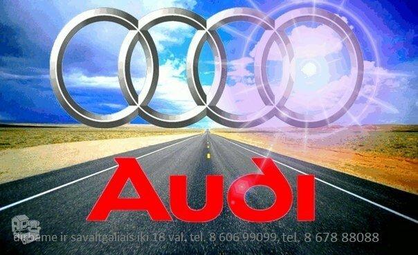 Audi dalimis. Naujos Audi dalys. Naudotos