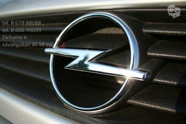 Opel automobilių dalys, Opel autodalys, Opel dalimis : Astra
