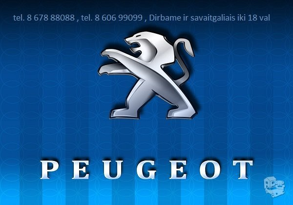 Peugeot automobilių dalys, Peugeot autodalys, dalimis : Peugeot