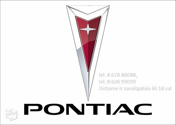 Pontiac usa automobiliai dalimis