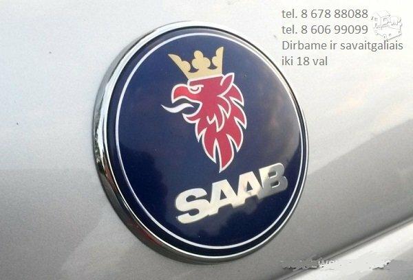 Saab dalys, autodalys, Saab dalimis