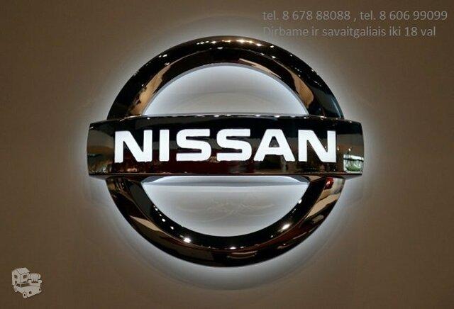 Nissan auto dalimis