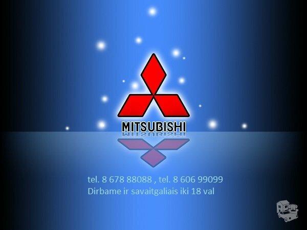 Mitsubishi dalys, autodalys, Mitsubishi dalimis