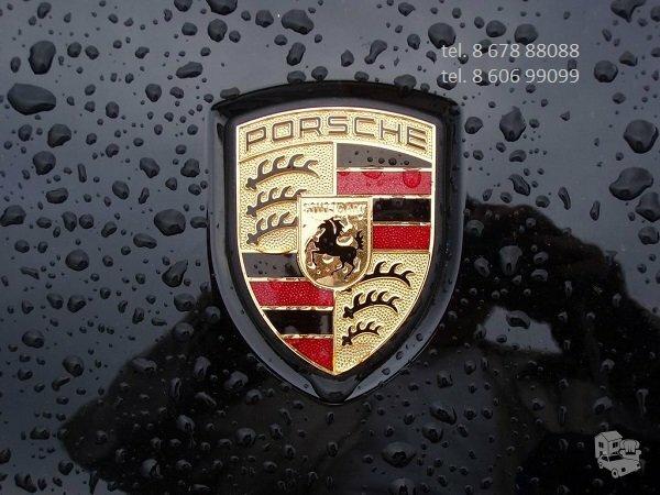 Porsche dalys, autodalys, Porsche dalimis