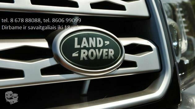 Land Rover dalys, autodalys, Land Rover dalimis  Land Rover