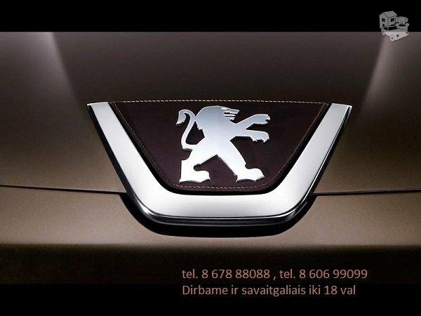 Originalios Peugeot dalys Vilniuje