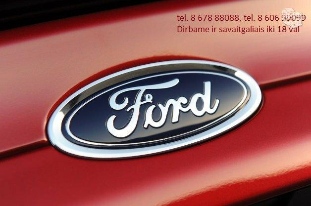 Originalios Ford dalys Vilniuje. Suremontuok savo Forda laiku