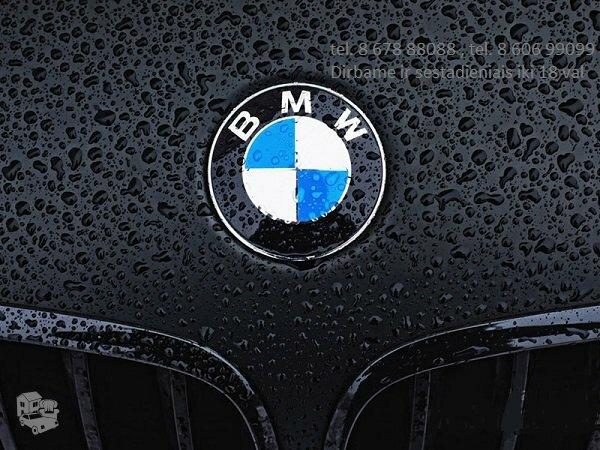 BMW 318 dalimis Vilniuje
