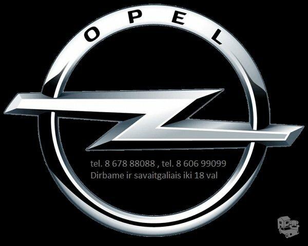 Opel Sintra automobilių dalys. Opel daliu parduotuve
