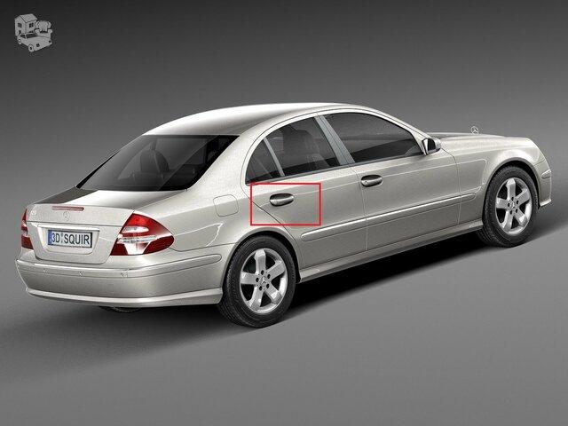 Mercedes Benz W-211 Durų spyna, (galinės durys).