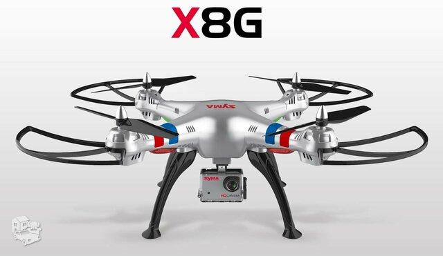 Naujas Syma X8g su Full HD filmavimo kamera
