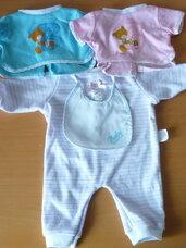 Lėlės kūdikio rūbai