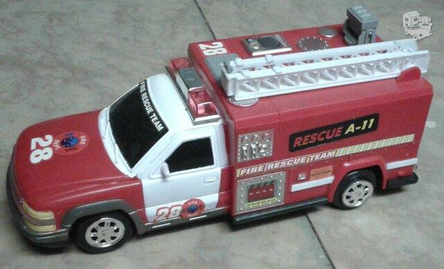 Žaislinė gaisrinės mašina