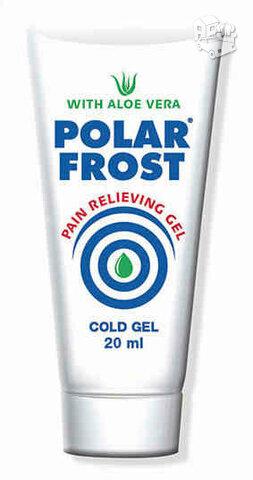 Šaldantis, skausmą mažinantis gelis su alijošiaus ekstraktu 20