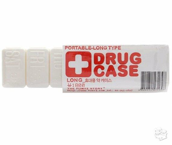 Vaistų laikymo dėžutė savaitei