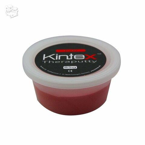 Ergoterapinė masė Kintex, be latekso, raudona.