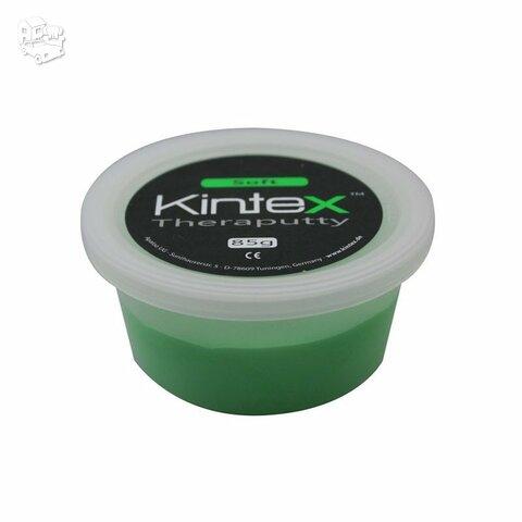 Ergoterapinė masė Kintex, be latekso, žalia.