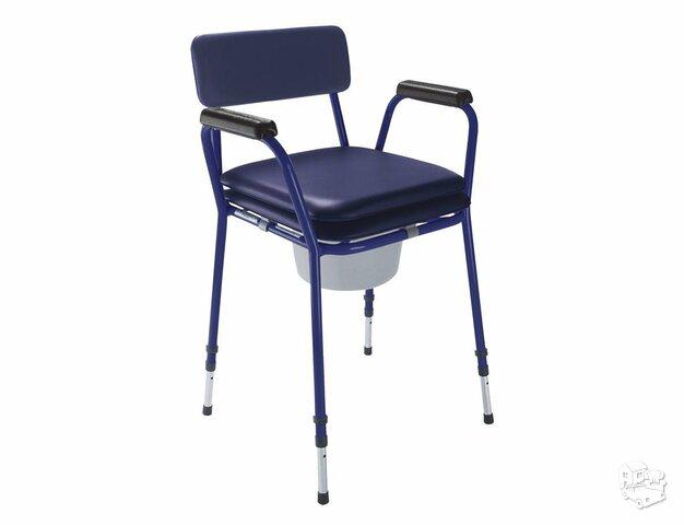 Tualetinė kėdė reguliuojamo aukščio be ratukų TS-CARE
