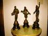 Prancūziškos antikvarinės statulėlės