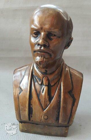Senas V.I.Lenino bronzinis biustas