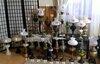 Antik.veikiančių žibalinių lempų kolekcija